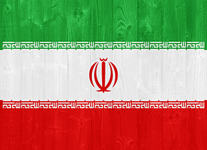 iran flag authentication
